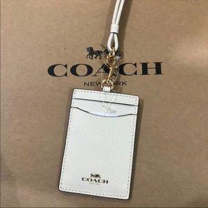 Coach ID Lanyard Case